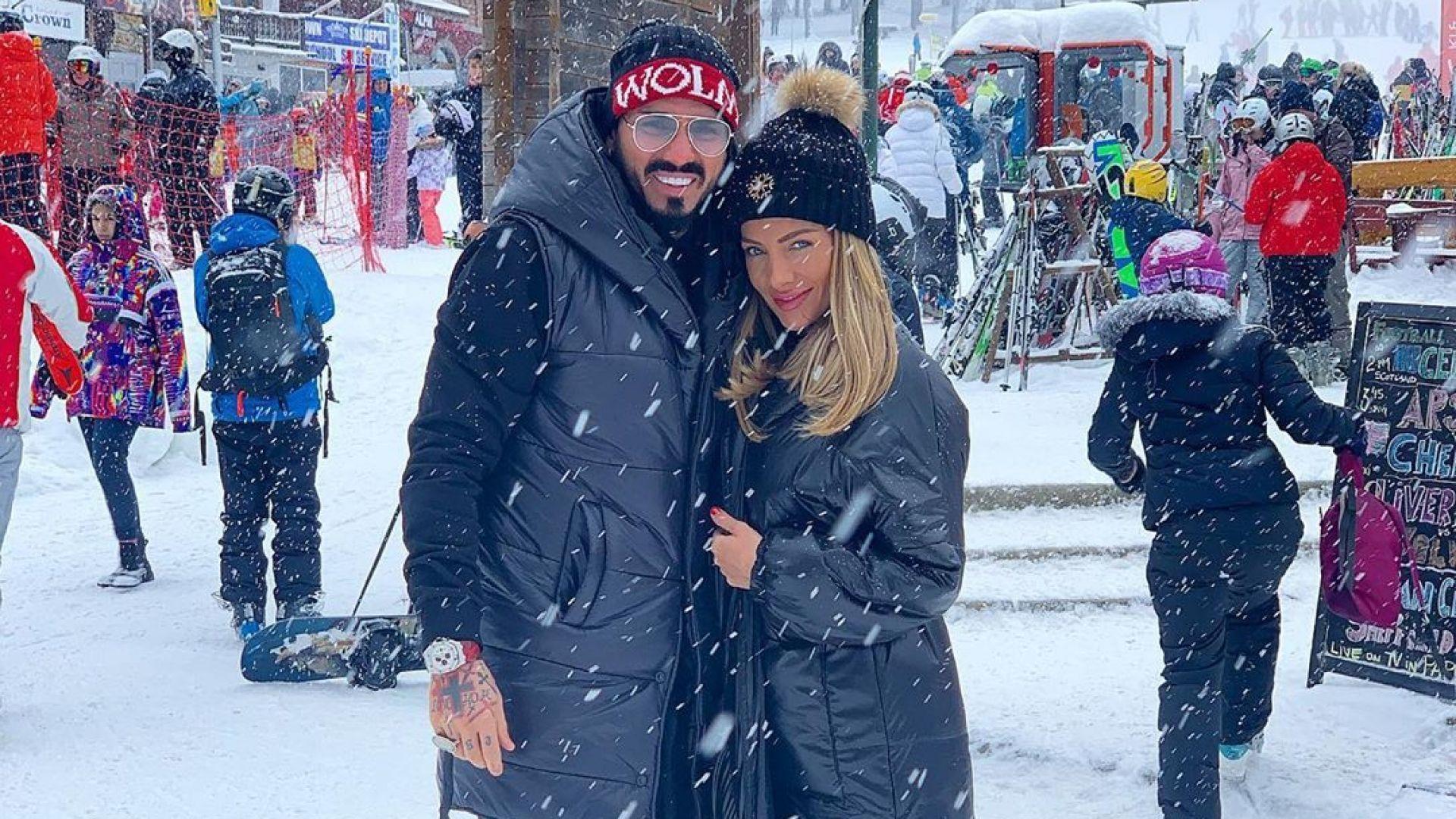 Златка Райкова и Благой Георгиев в снежна приказка