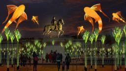 Магическият фестивал на светлините в Лион 2019 превърна града в бижу