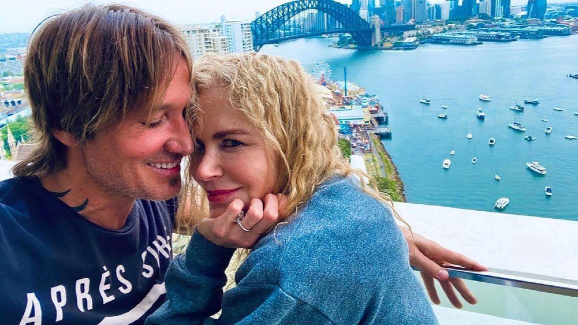 Никол Кидман и Кийт Ърбан влюбени в Сидни преди Нова година