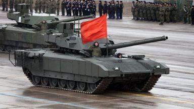 Важно предимство на най-новия руски танк - има тоалетна