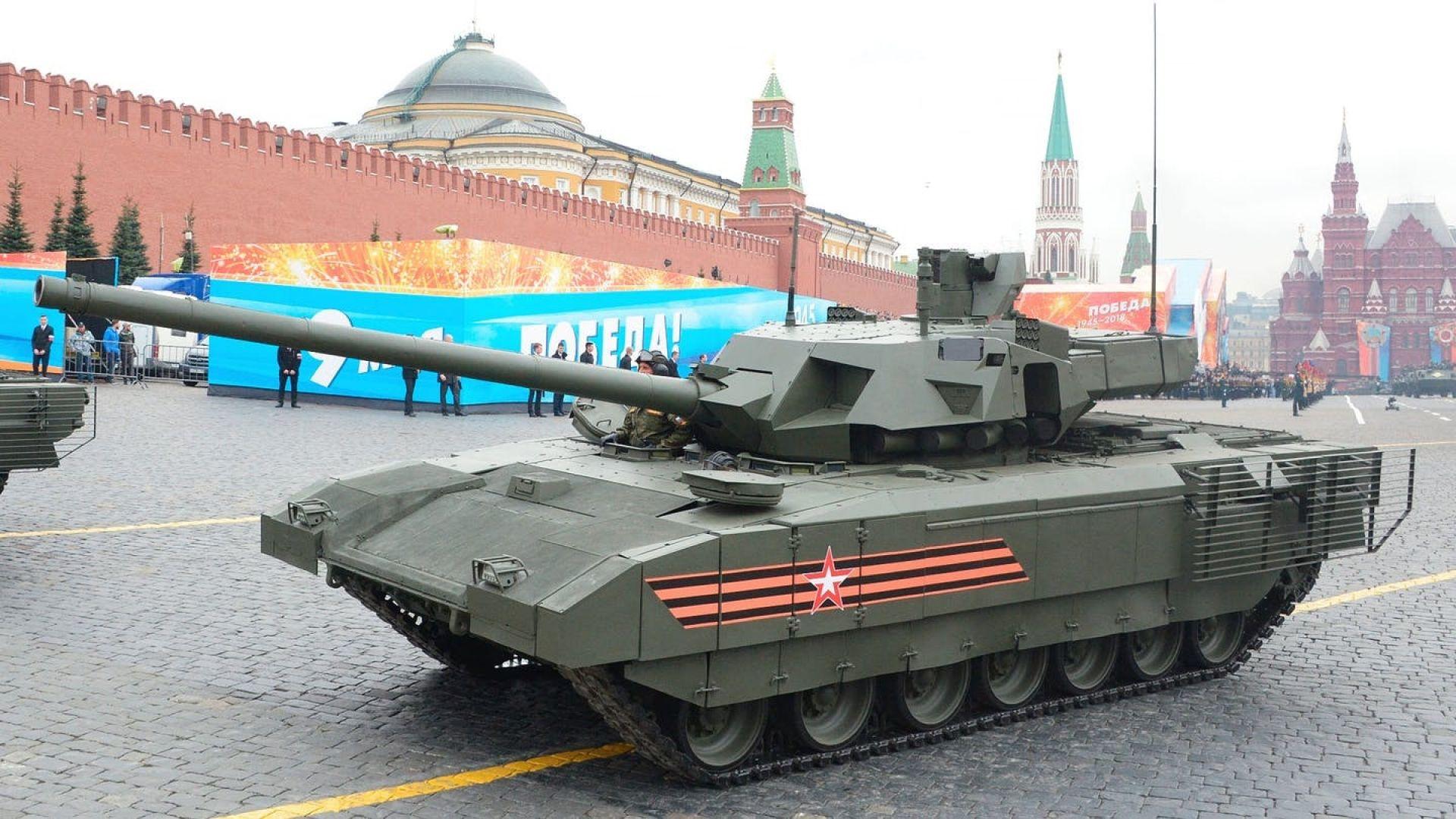 """Русия ще продава Т-14 """"Армата"""" на други държави"""