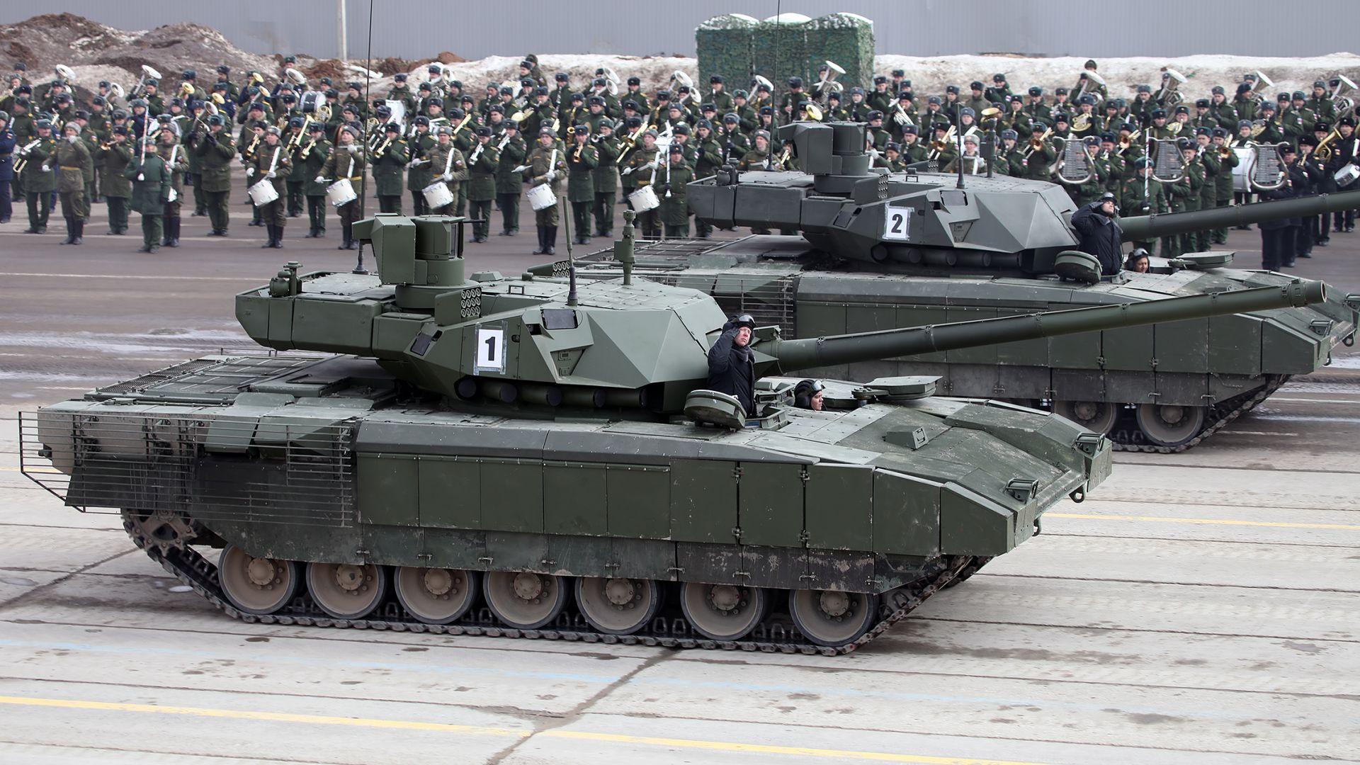 """Русия се готви да продава Т-14 """"Армата"""" на други държави"""
