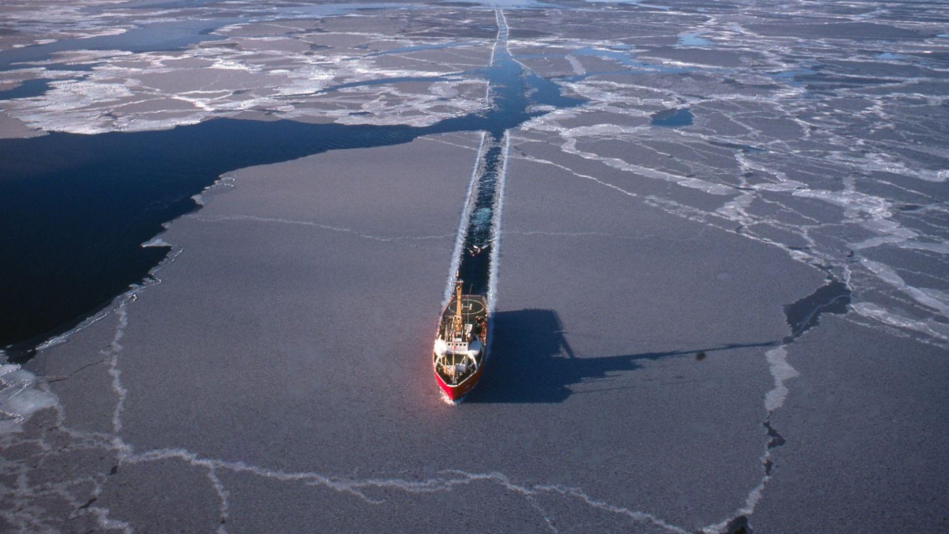 На германския полярен изследователски кораб