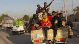 Протестиращите пред посолството на САЩ в Багдад се изтеглиха