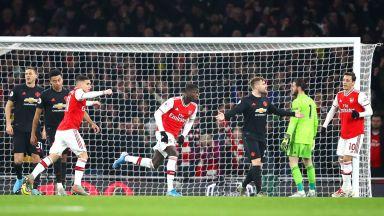 """Арсенал на Артета впечатли и приземи """"червените дяволи"""""""