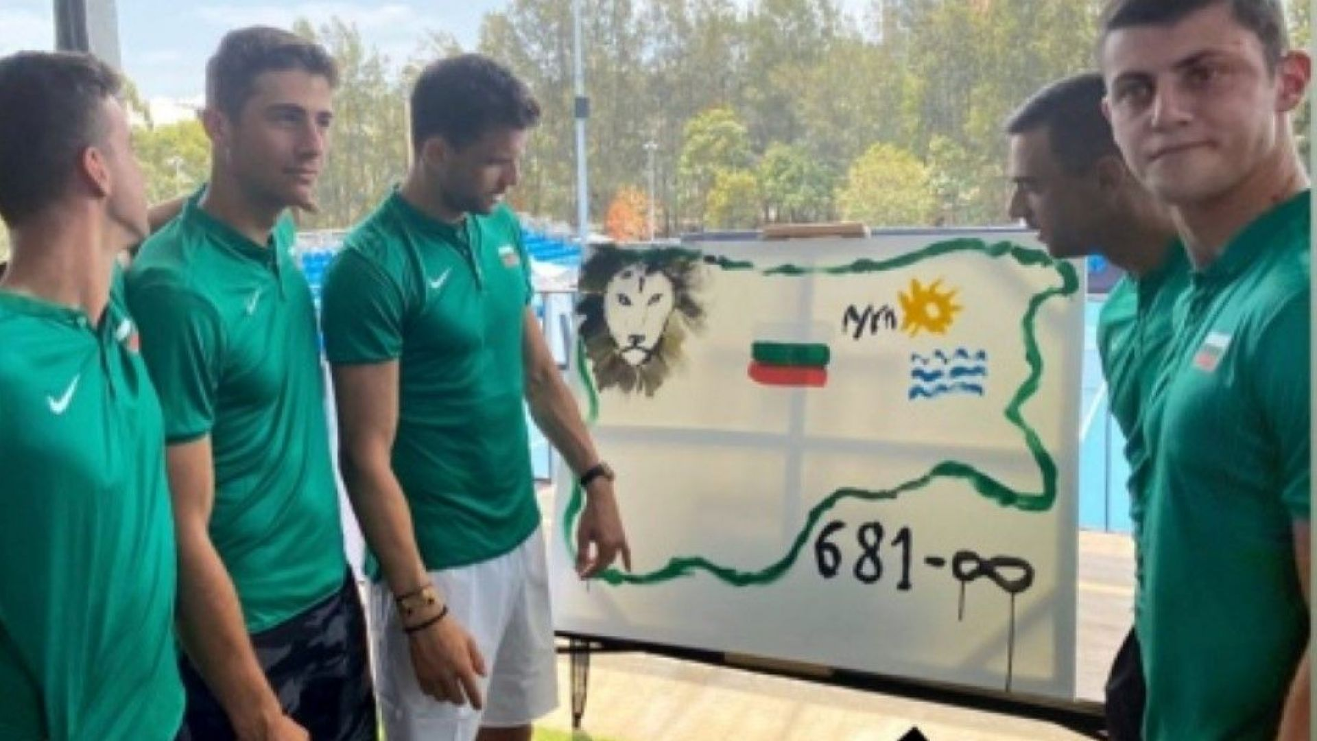 Отбор България показа умения в рисуването, посолството ни организира агитка