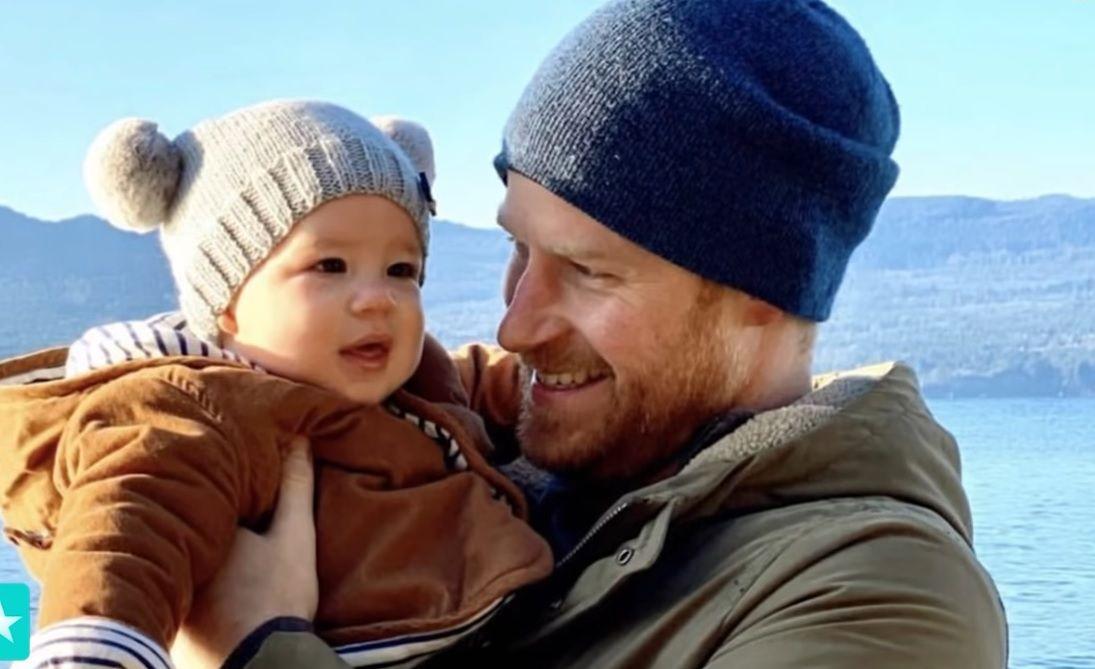 Принц Хари със сина си Арчи