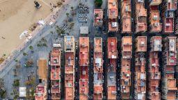 Вижте Барселона, гледана от небето