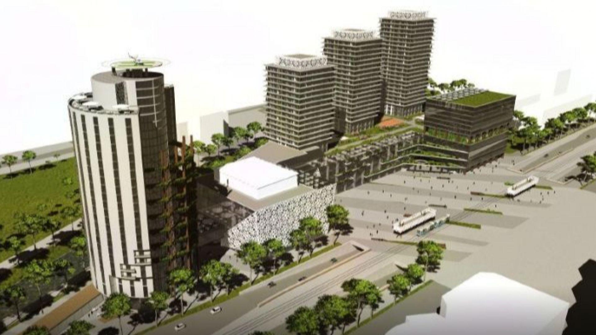 Сараево кани инвеститори за строежа на 40-етажна кула с конгресен център