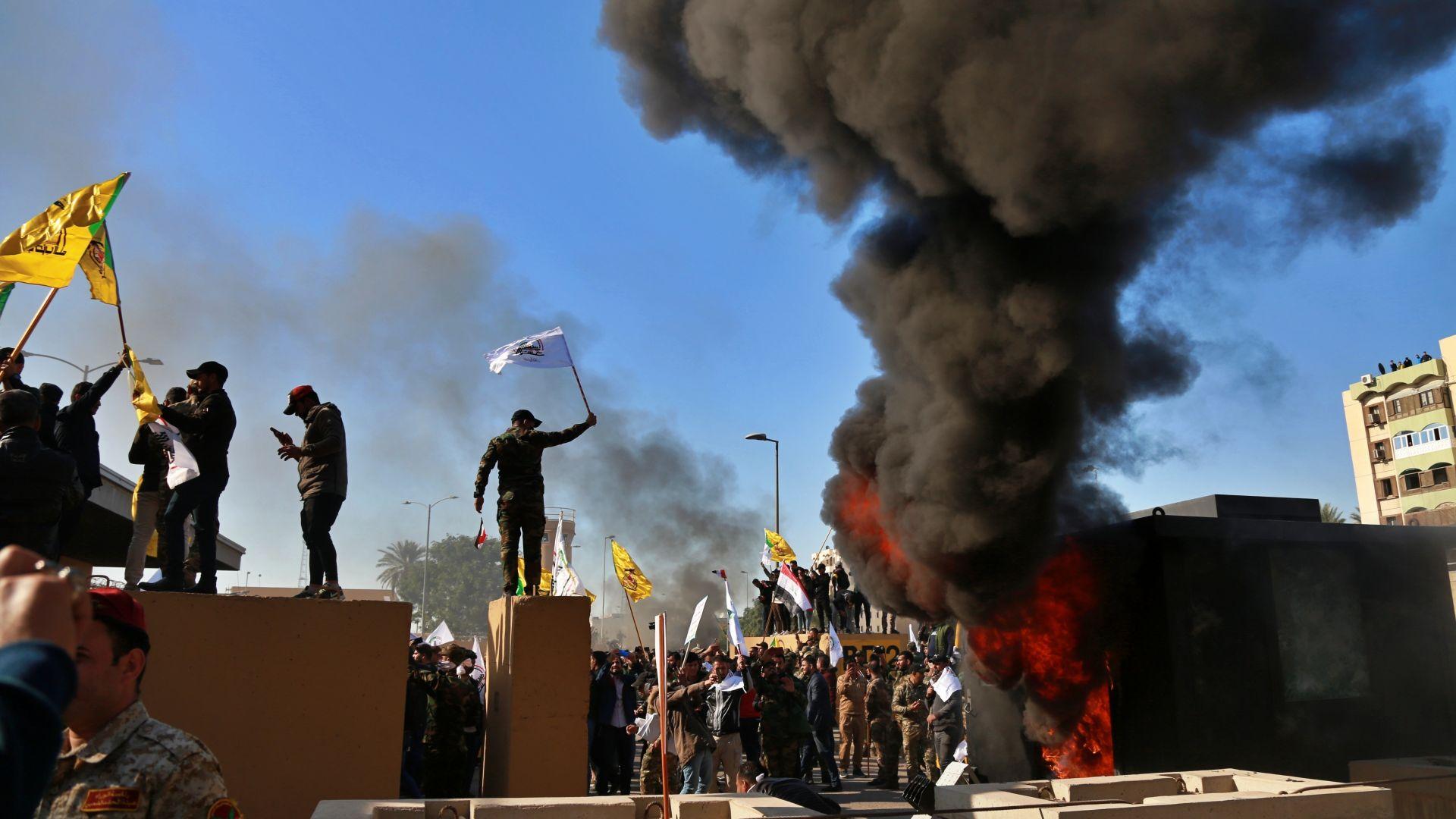 Ирак съобщи за нов въдушен удар на САЩ