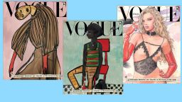 """Италианското издание на """"Вог"""" без снимки в януарския си брой"""