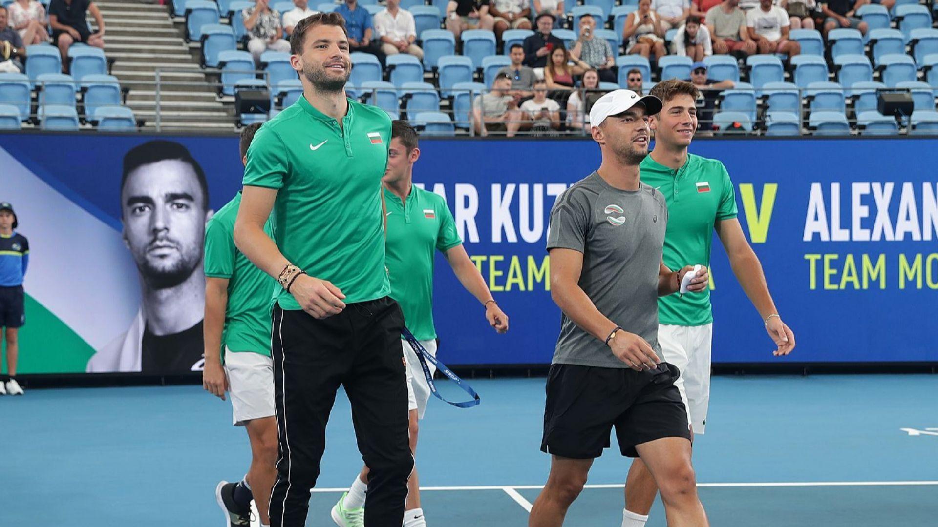 Какво е нужно на България за четвъртфинал в ATP Cup - вариантите