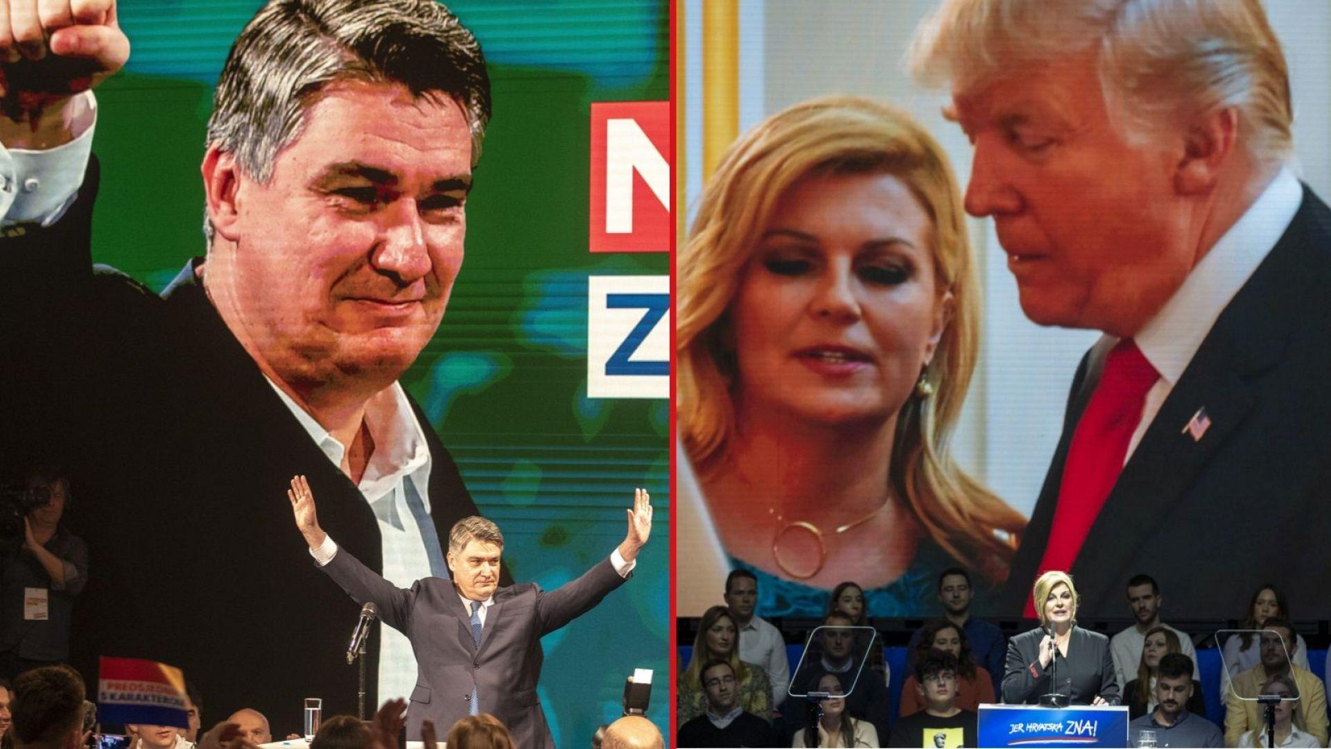 Президентският балотаж в Хърватия подготвя сцената за парламентарни избори