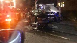 Жестока катастрофа пред 24-та поликлиника в София