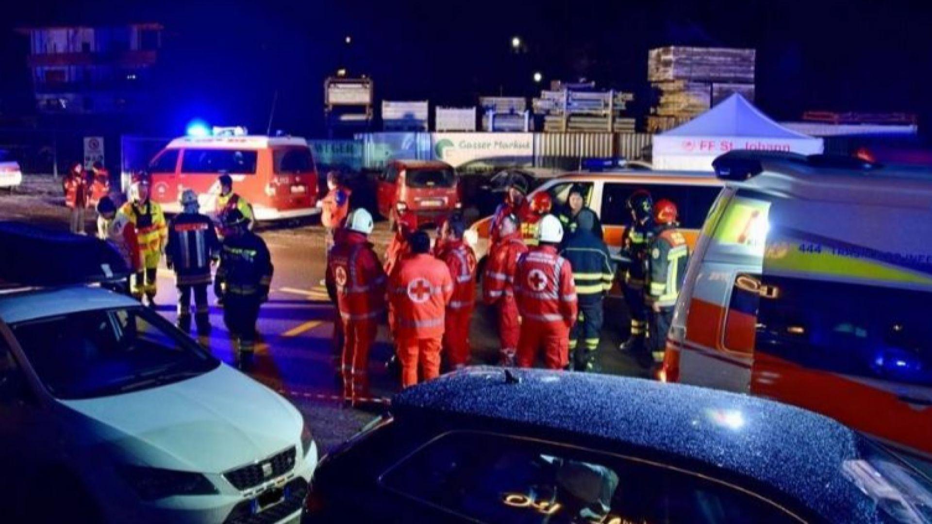 Автомобил се вряза в германски туристи в Италия, шестима убити на място