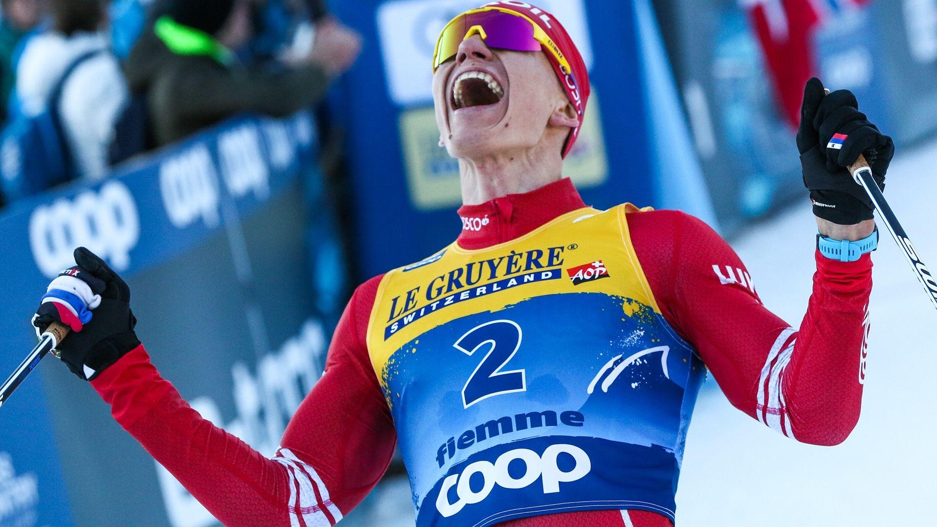 Силен финален спринт донесе нова победа за Болшунов