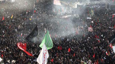 На траурната церемония в Техеран: Дъщерята на Солеймани отправи заплахи към САЩ и Израел
