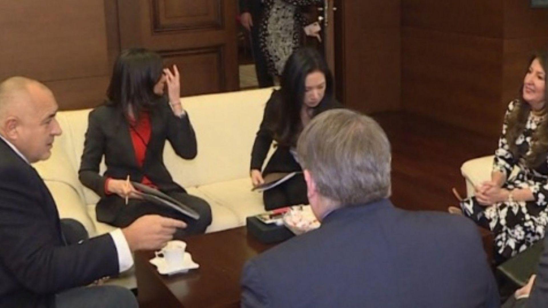 Борисов се срещна с посланика на САЩ Херо Мустафа