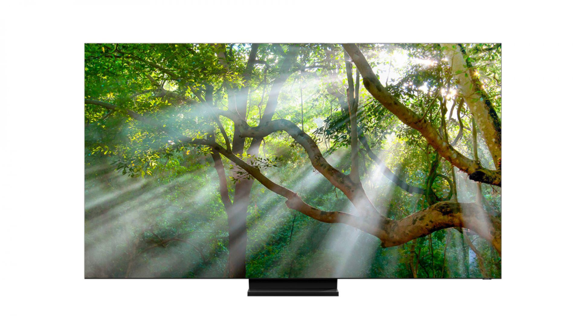 Samsung показа безрамков 8К телевизор