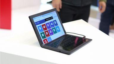 Lenovo започва продажбите на първия лаптоп със сгъваем екран