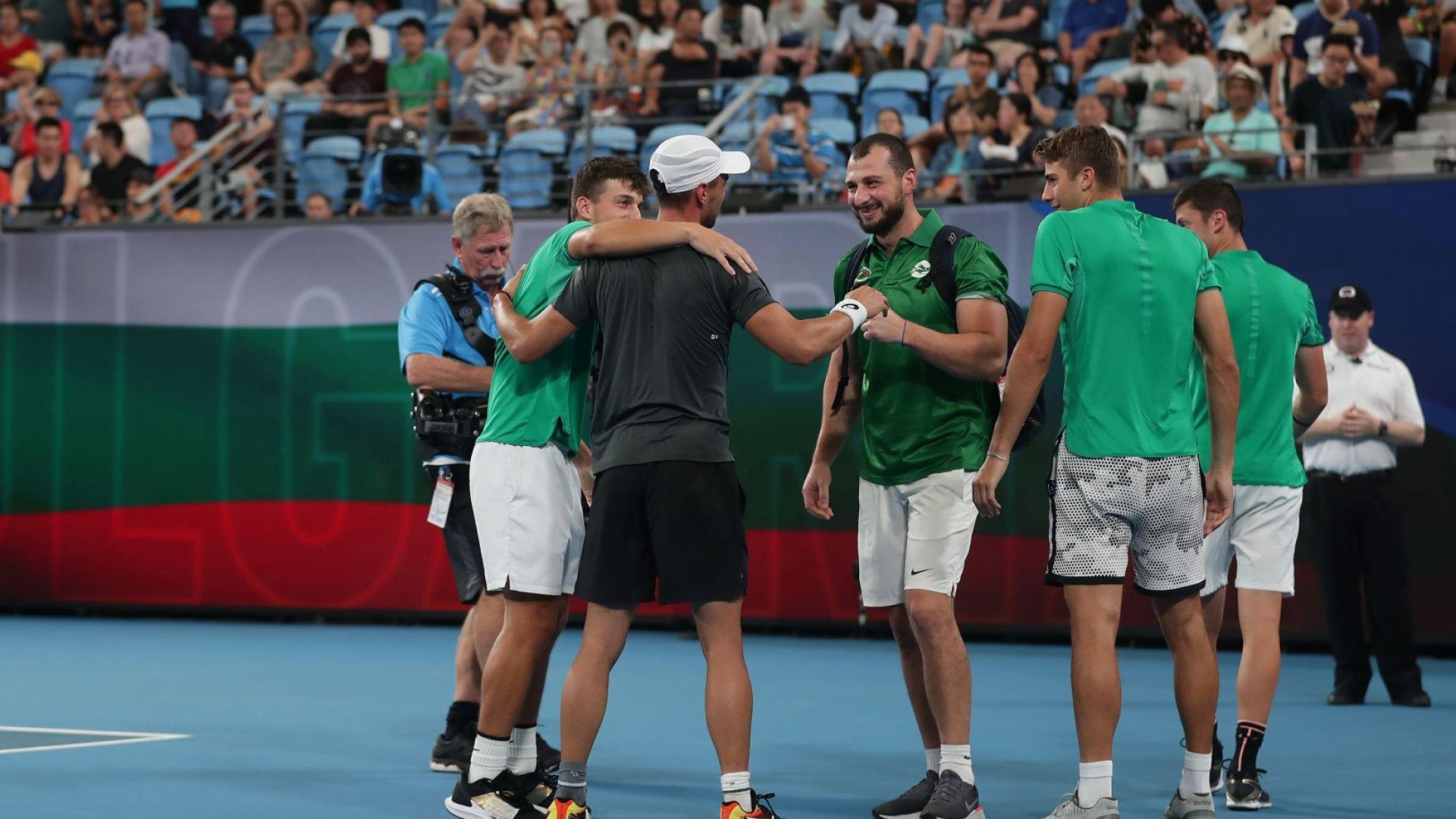 Отборът ни по тенис: Постигнахме нещо голямо, не измествайте фокуса към парите