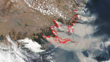 Мега пожар може да се стовари с целия си гняв върху Австралия