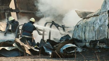 Пътнически самолет се е разбил в Афганистан