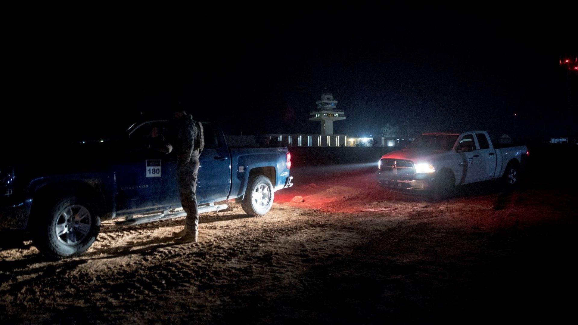 """Има ранени иракчани при ракетния удар срещу военната база """"Таджи"""""""