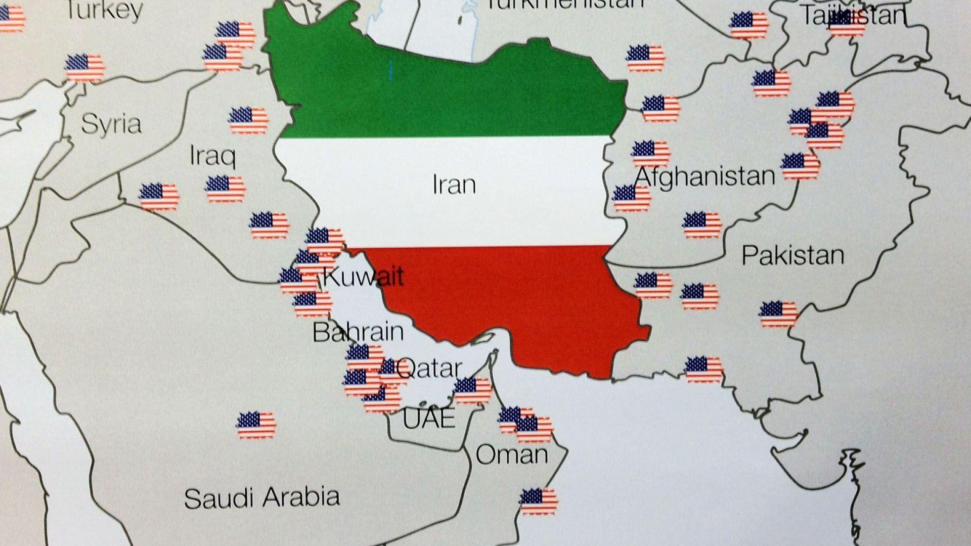 Американските бази в Близкия Изток