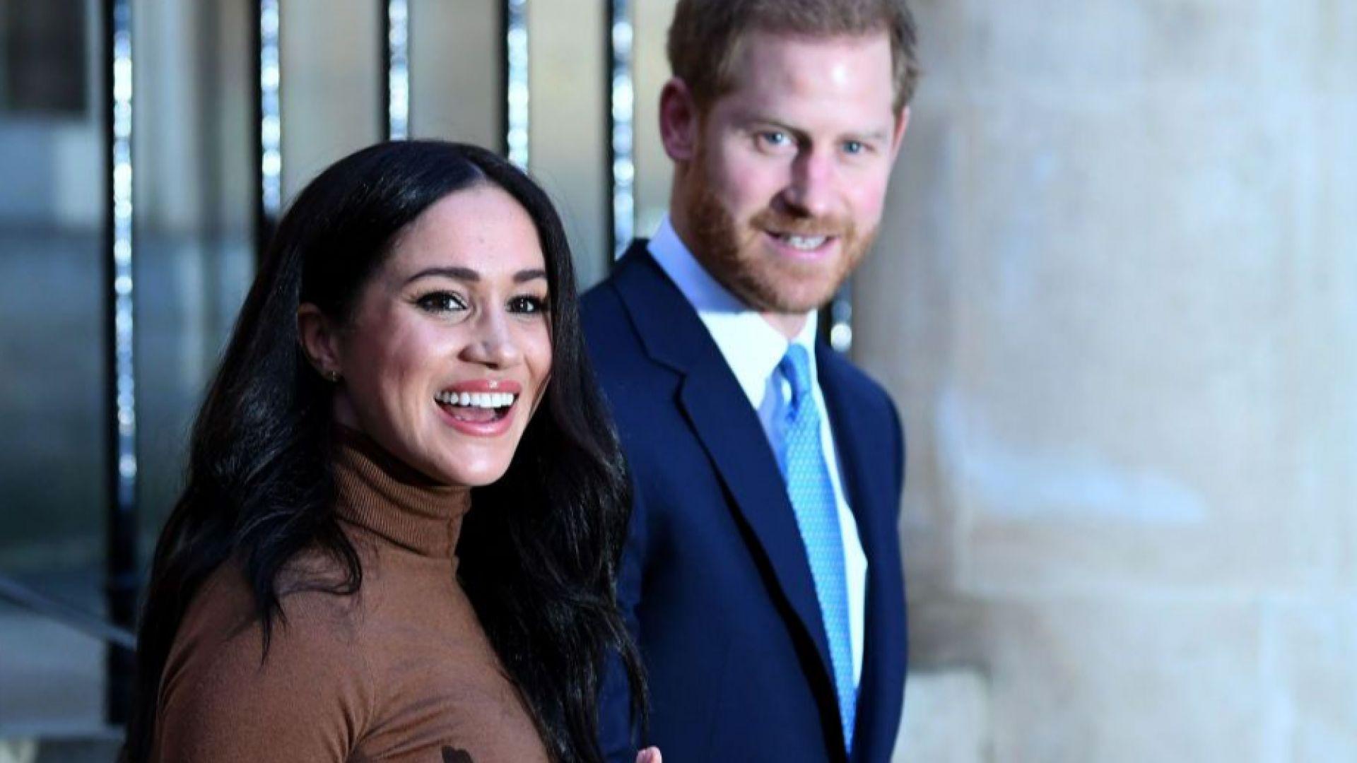 """Ще отнемат ли запазената марка """"кралски"""" на принц Хари и Меган?"""