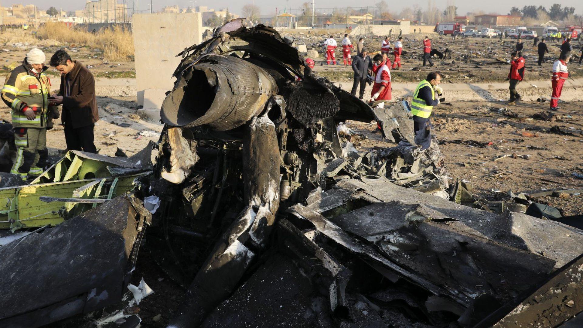 Иран призна, че е свалил украинския самолет в Техеран