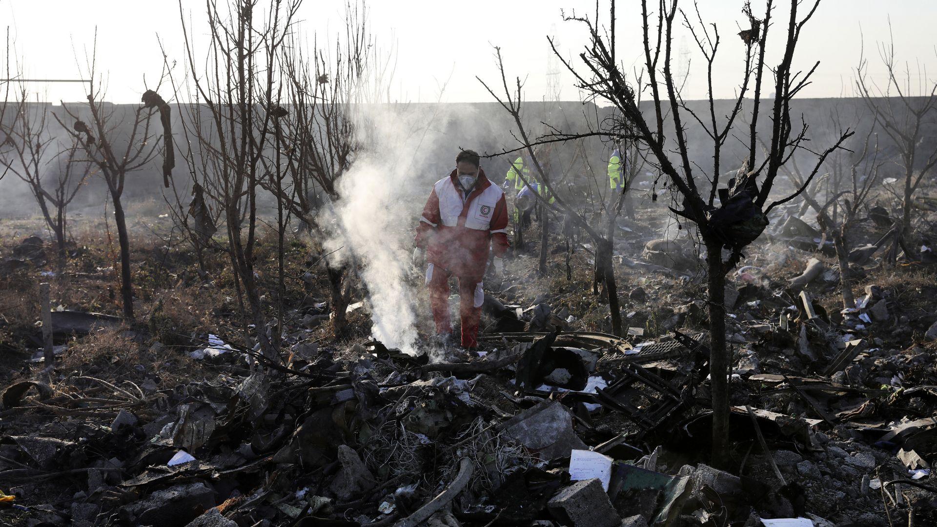 Киев се сдоби с важен запис за сваления от Иран украински самолет