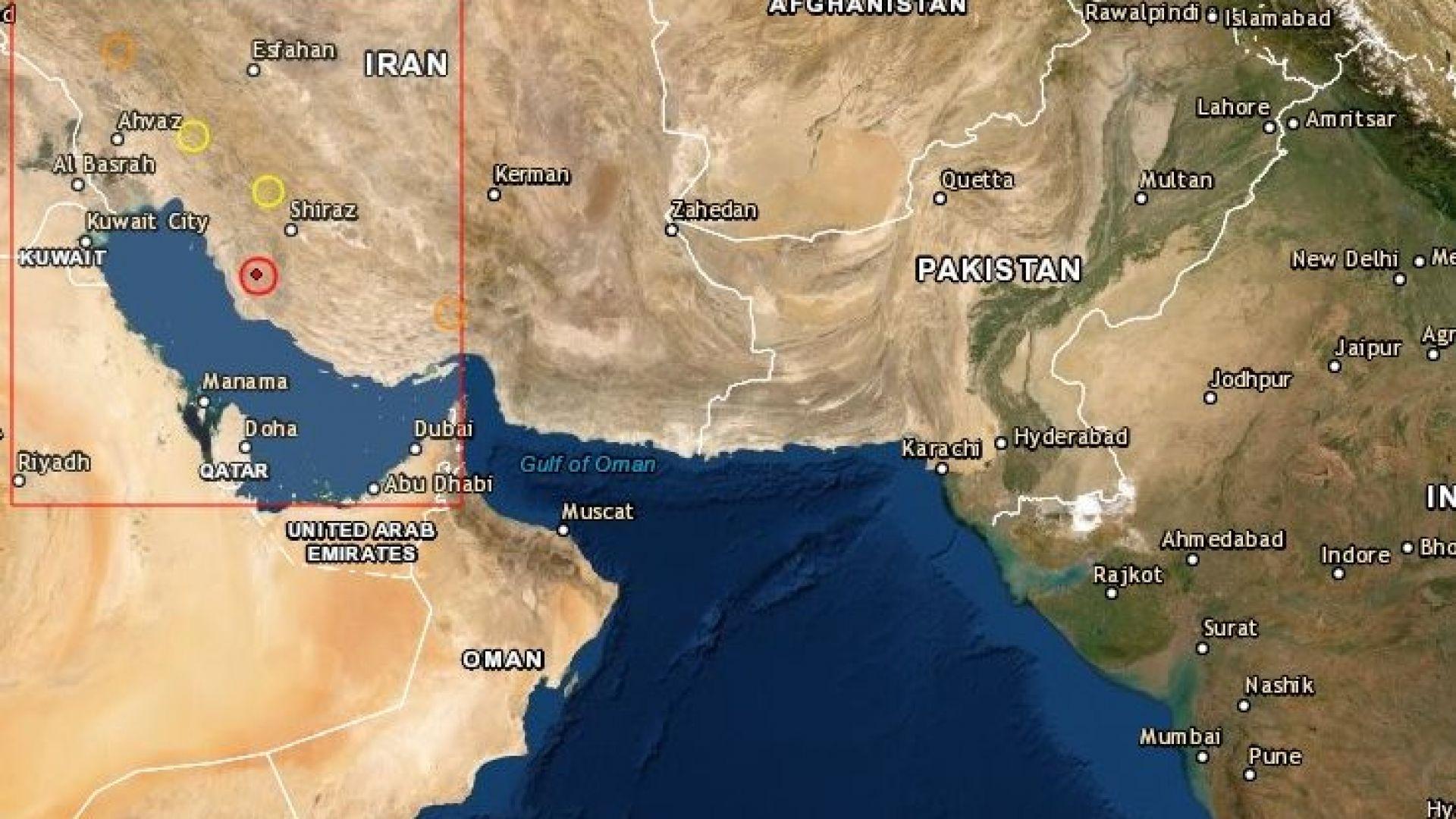 Силни земетресения до атомна електроцентрала разтърсиха Иран