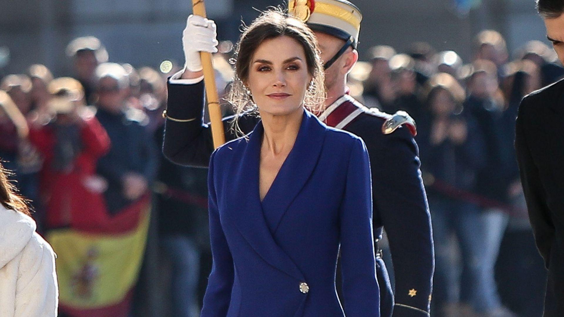 Кралица Летисия спря дъха на всички с елегантен и секси тоалет