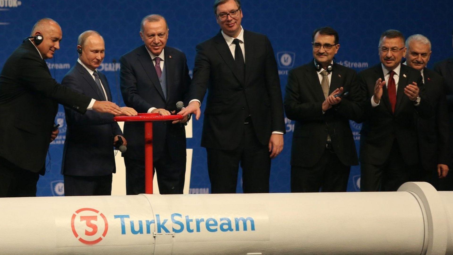 """""""Газпром"""" обвини България за забавянето на """"Турски поток"""" към Европа"""