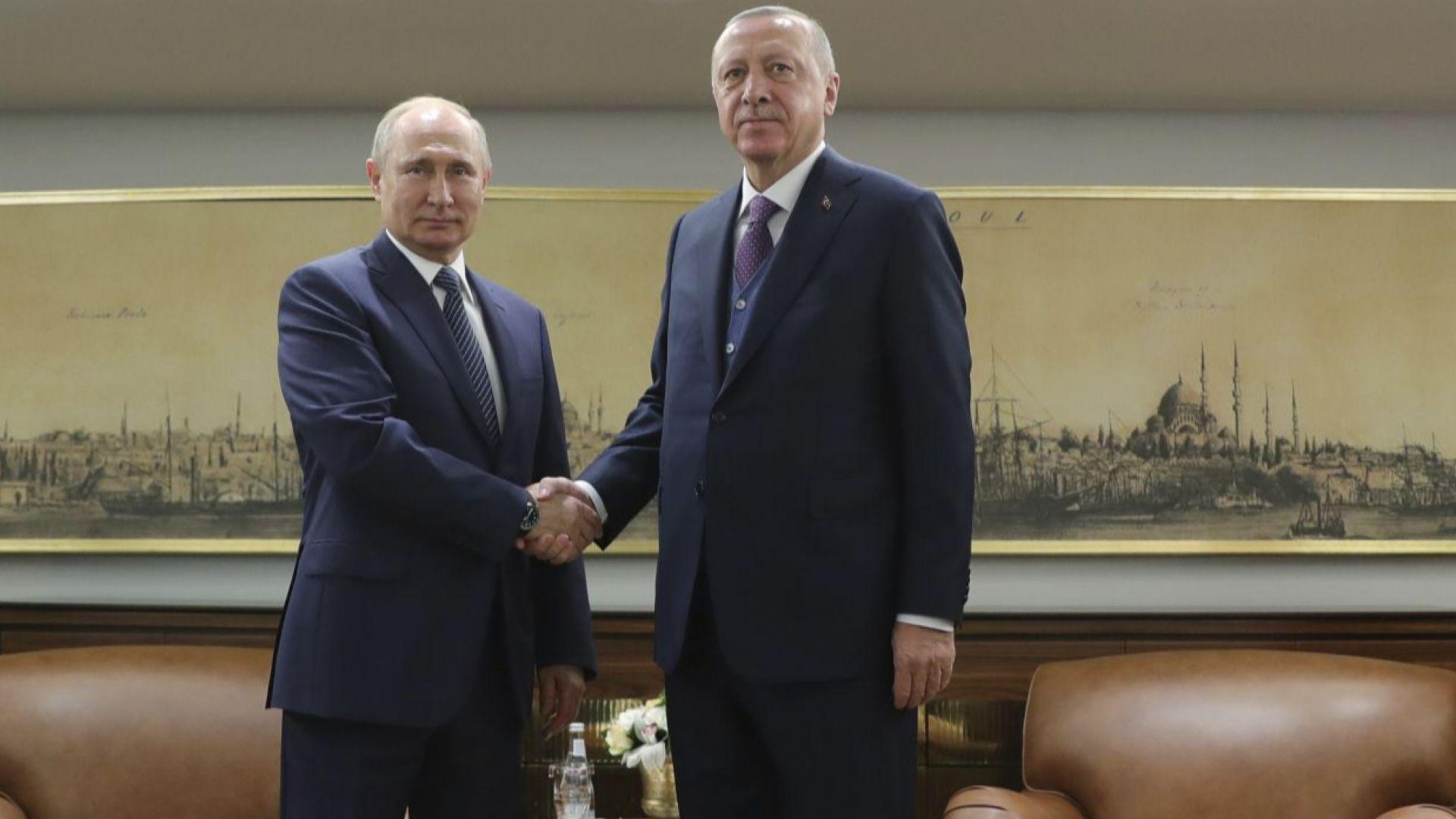 Путин и Ердоган призоваха САЩ и Иран за сдържаност и здрав разум