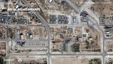 """US военните били предупредени 2,5 ч. преди ударите срещу базата """"Айн ал Асад"""""""