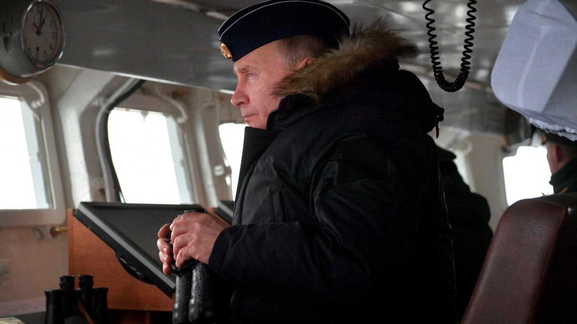 Владимир Путин: Русия създаде уникални нападателни оръжия