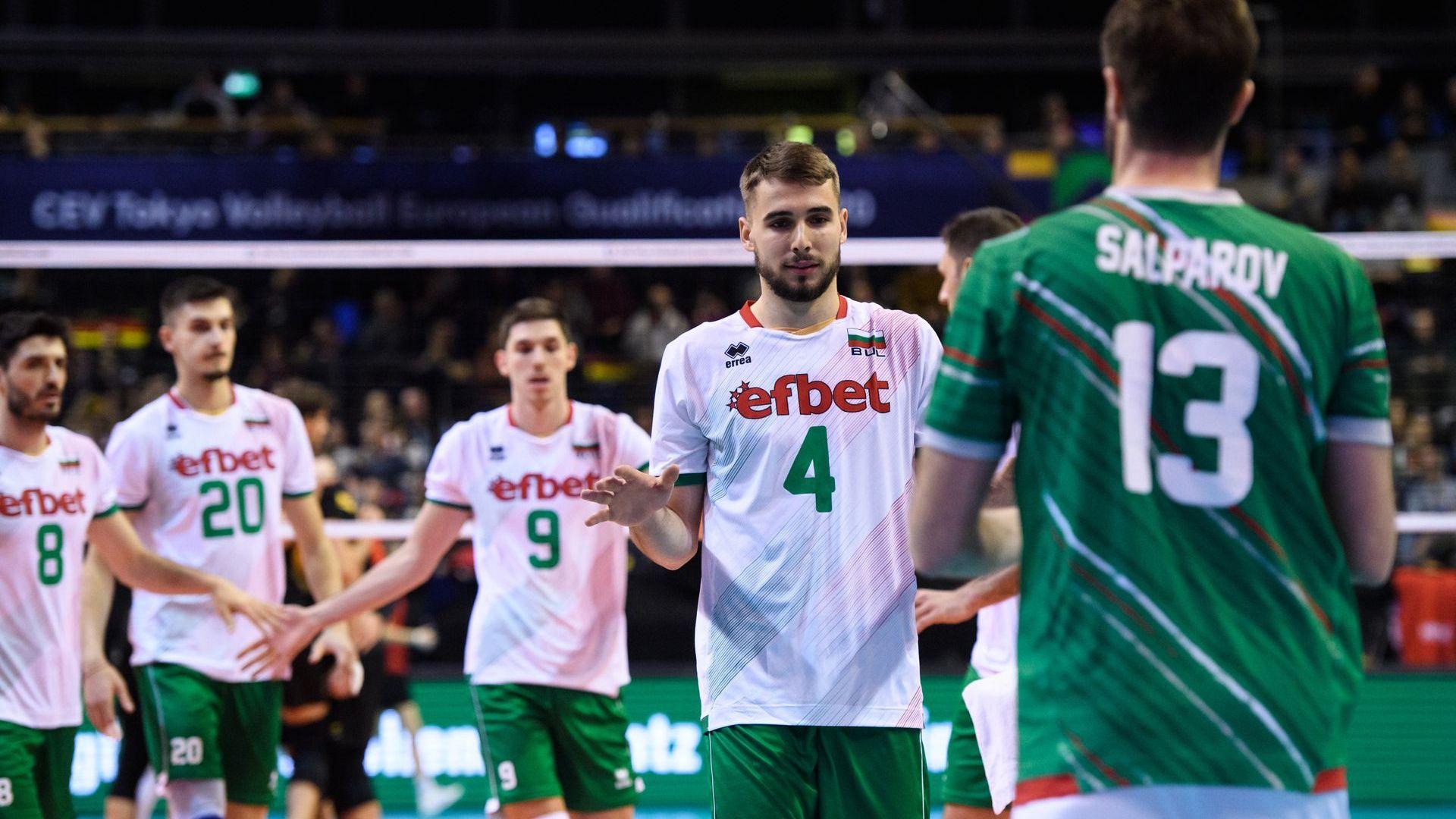 Германия уби олимпийските мечти на волейболна България