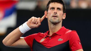 Джокович пак изригна за ваксините и намекна, че може да пропусне Australian open