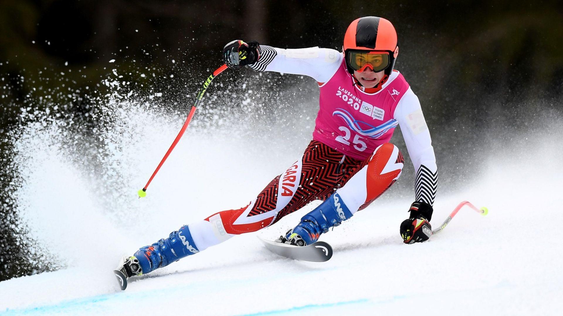 Българското участие на Олимпиадата започна с алпийски ски