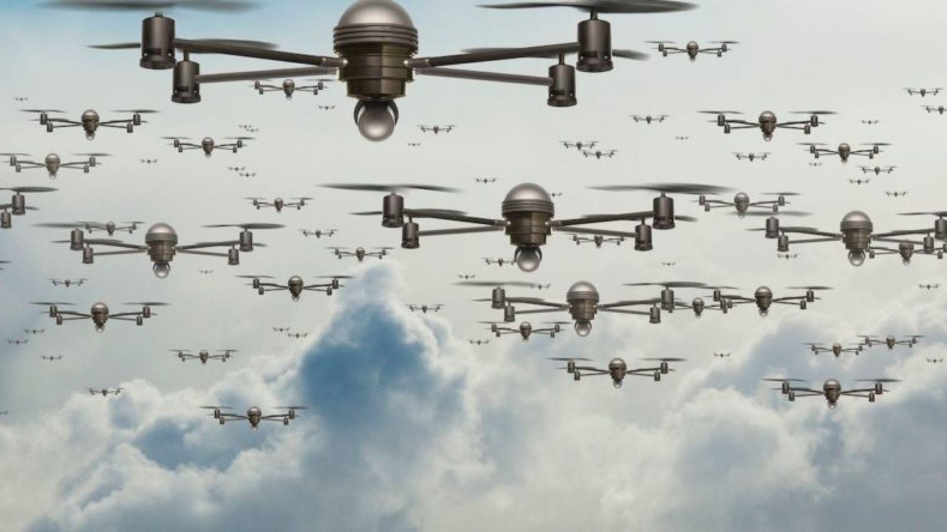Руски учени изобретиха дронове, които излъчват 5G