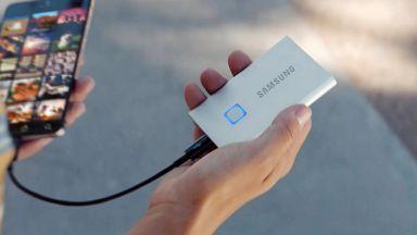 Samsung представи портативен SSD с подобрена сигурност и тегло 58 грама