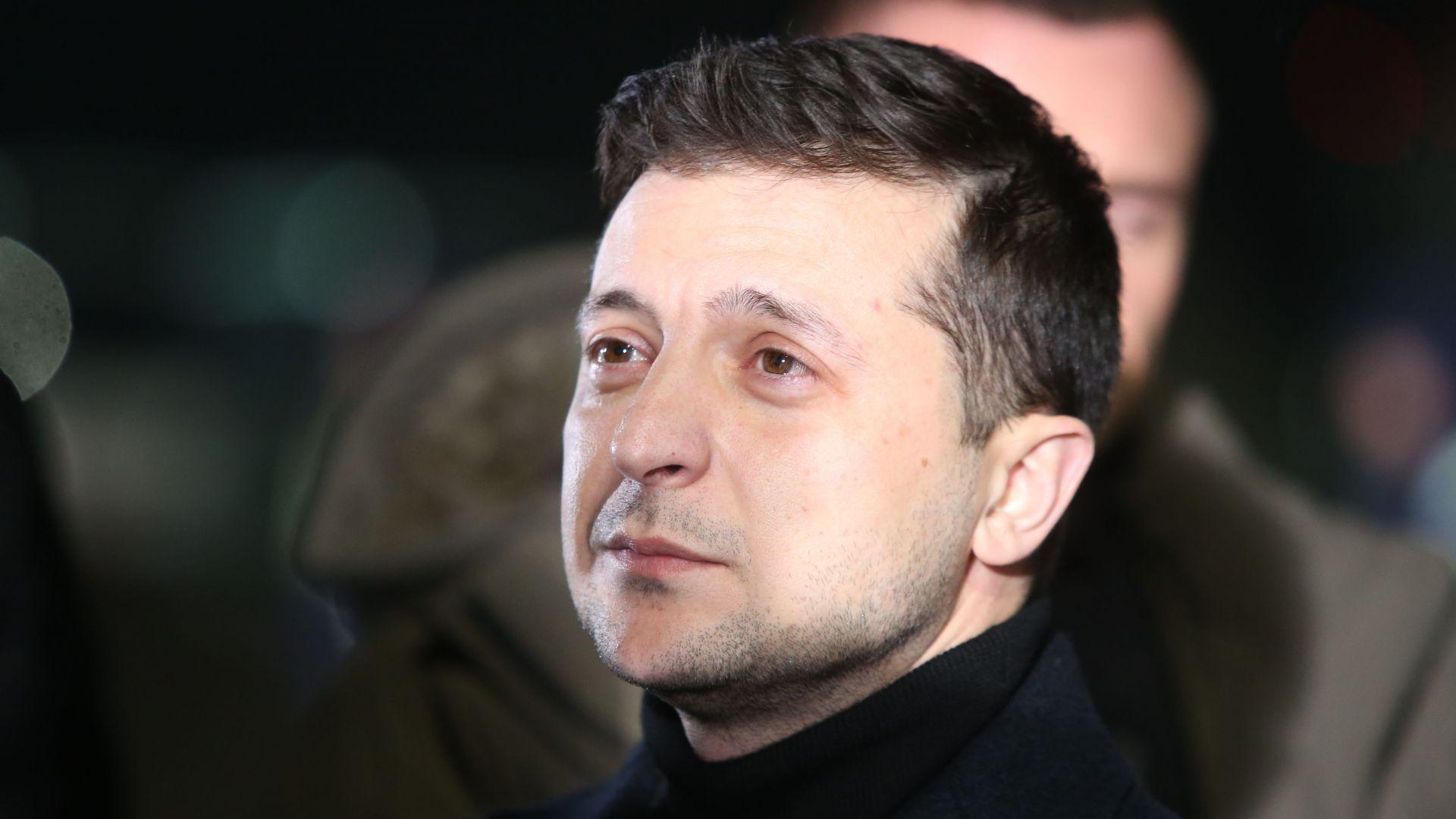 Украинският президент Володимир Зеленски настоя за пълно признание на вина