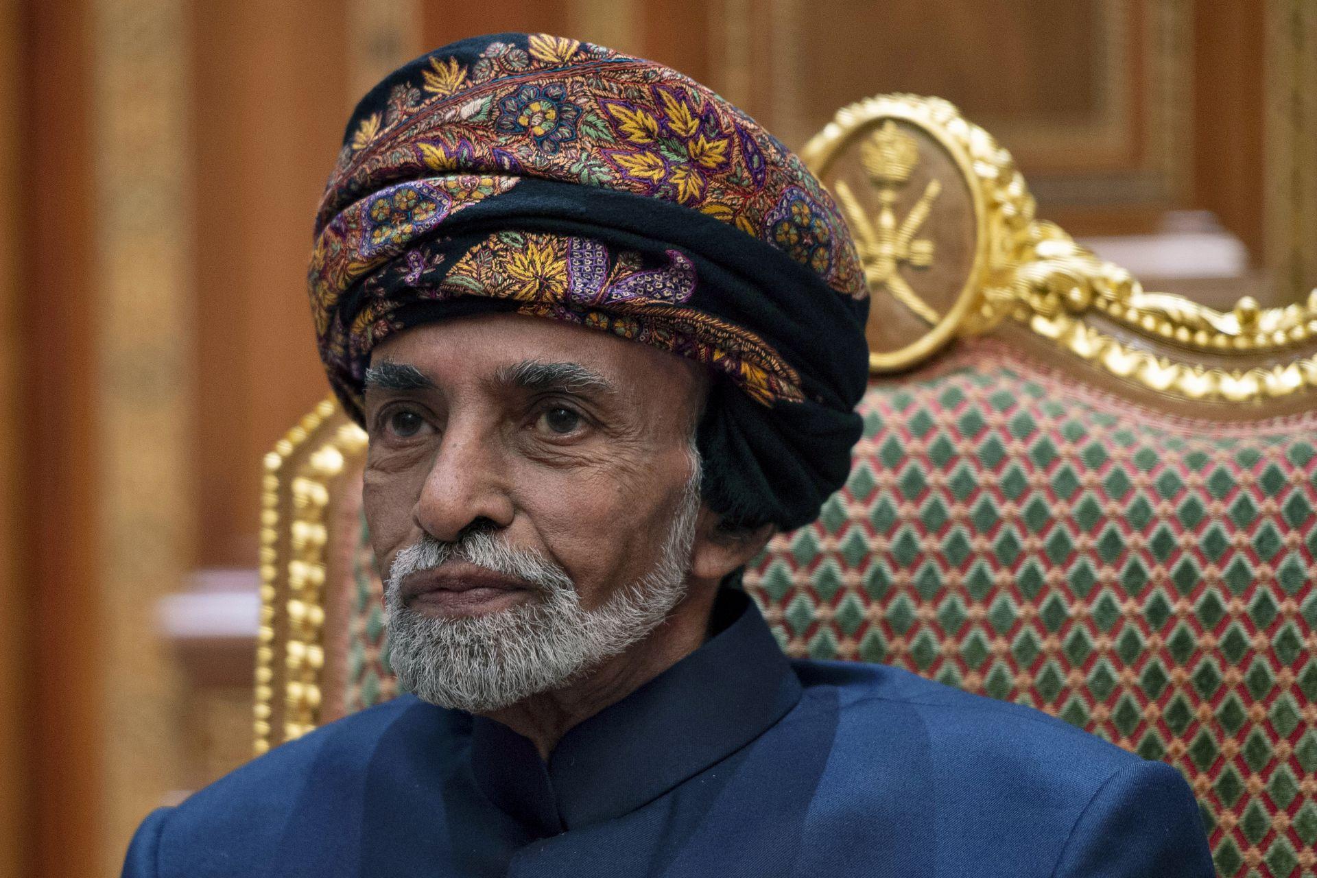 Султан Кабус бин Саид Ал Саид почина късно снощи на 79-годишна възраст