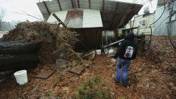 Мощни бури удариха южните щати на САЩ и взеха 9 жертви (снимки+видео)