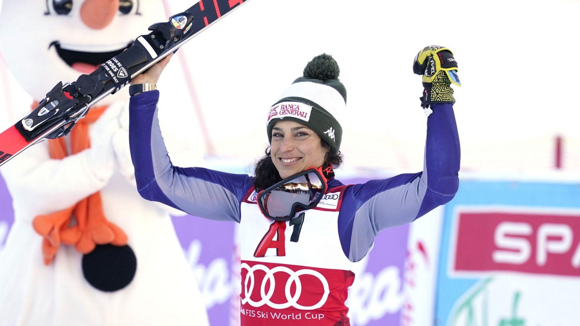 Италианка спечели първата алпийска комбинация за сезона