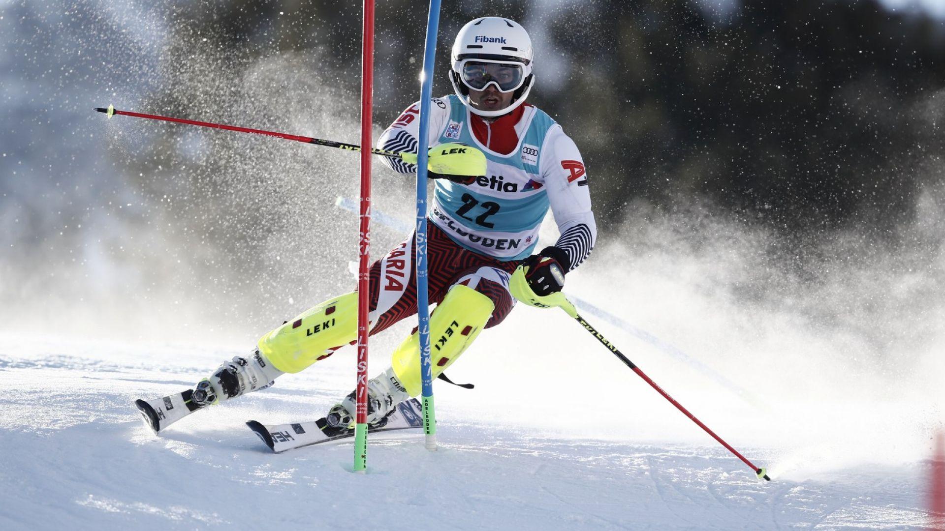Алберт Попов ще участва в две дисциплини на Световното