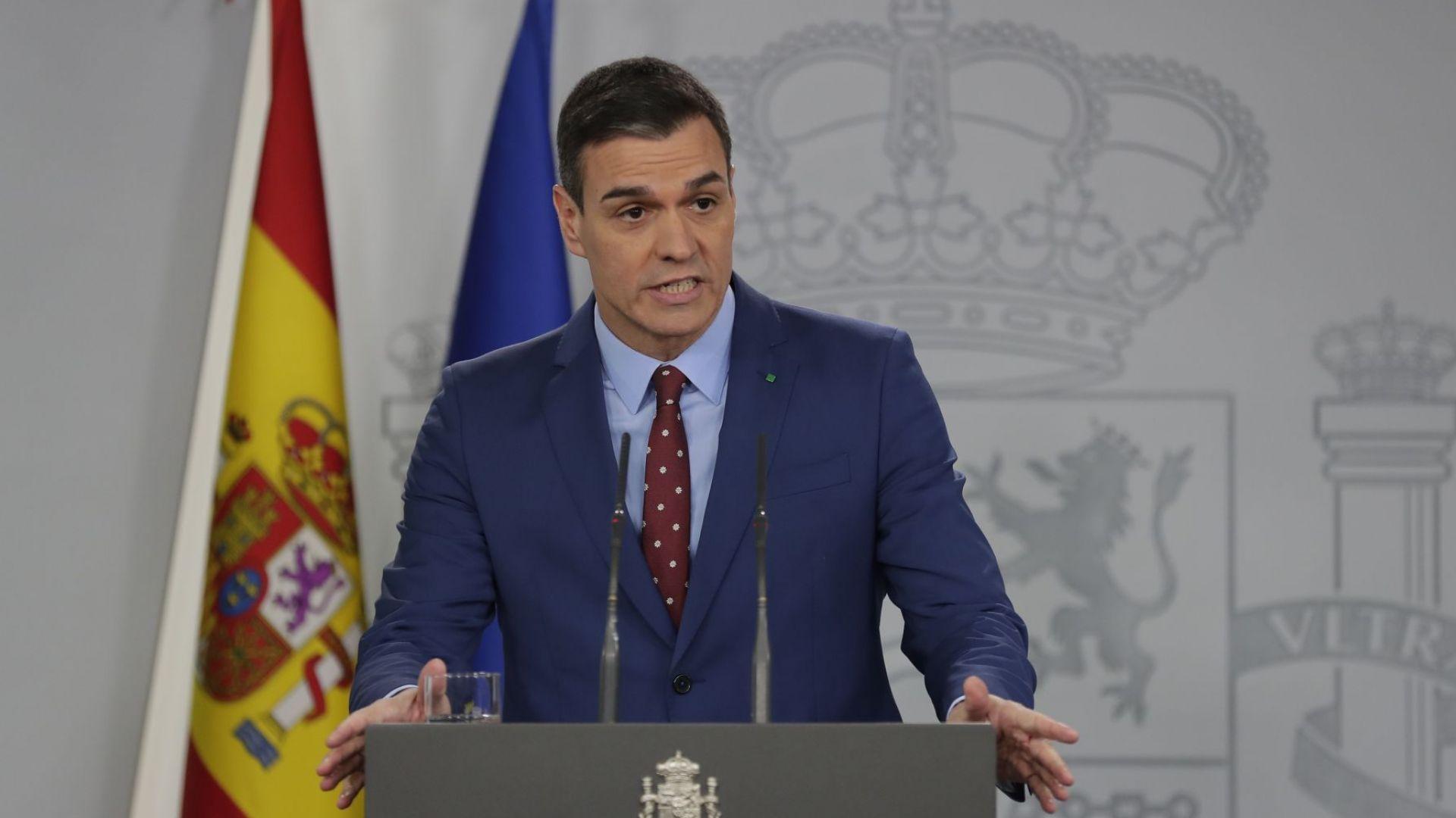 Санчес представи новия си кабинет от 22-ма министри