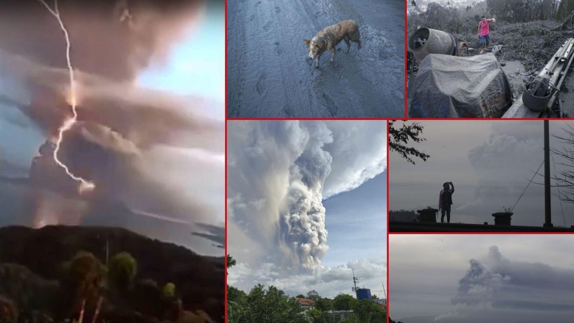 Десетки земетресения, лава и дъжд от камъни: Вулканът Таал излива гнева си по Манила (видео/снимки)